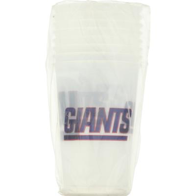 NFL Plastic Cups, New York Giants, 20 Fluid Ounce