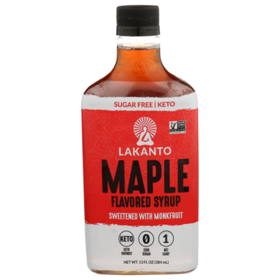 Lakanto Flavored Syrup, Maple