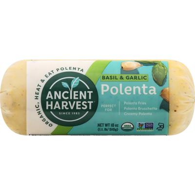 Ancient Harvest Polenta, Basil & Garlic