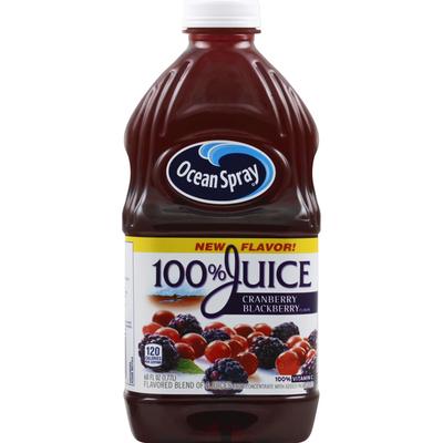 Ocean Spray 100% Juice, Cranberry Blackberry Flavor