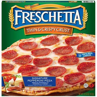 Freschetta Thin & Crispy Crust Signature Pepperoni Pizza