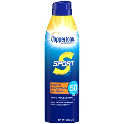 Coppertone Sport Sunscreen Continuous Spray SPF 50