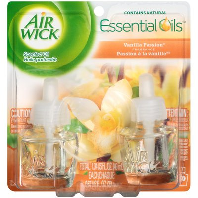 Air Wick Vanilla Passion Fragrance Scented Oil Refill