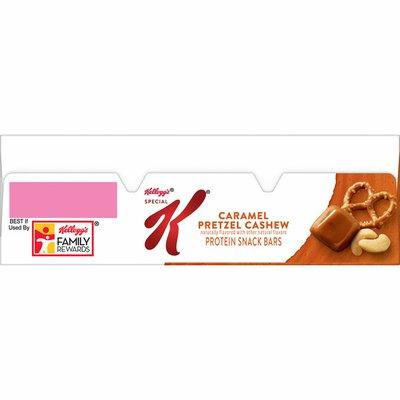 Kellogg's Special K Protein Snack Bars, 8g of Protein Per Bar, Caramel Pretzel Cashew