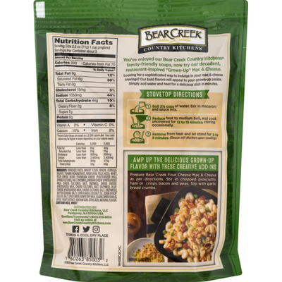 Bear Creek Country Kitchens Grown-Up Four Cheese Mac & Cheese