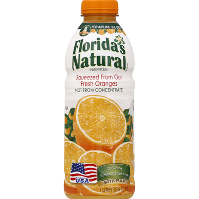Florida's Natural 100% Pure Juice, Orange