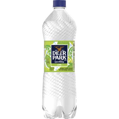 Deer park Sparkling Water, Zesty Lime