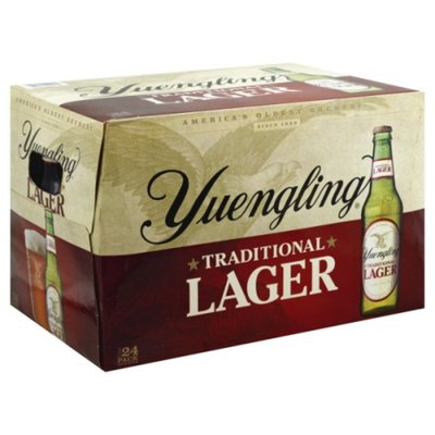 Yuengling Beer, Traditional Lager, 24 Pack