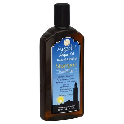 Agadir Shampoo, Daily Volumizing, Argan Oil, Bottle