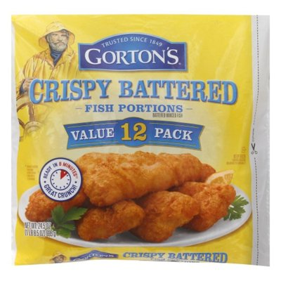 Gorton's Crispy Battered Fish Portions