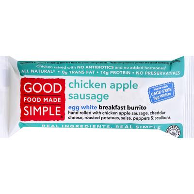 Good Food Made Simple Chicken Apple Sausage Burrito