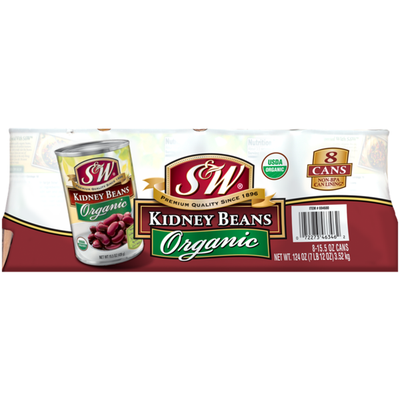 S&W Organic Kidney Beans