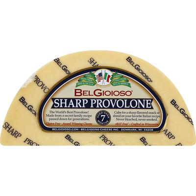 BelGioioso Provolone Cheese Sharp Wedge
