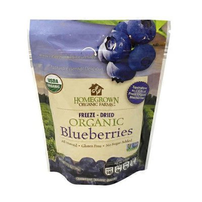 Homegrown Organic Farms Freeze-dried Organic Blueberries