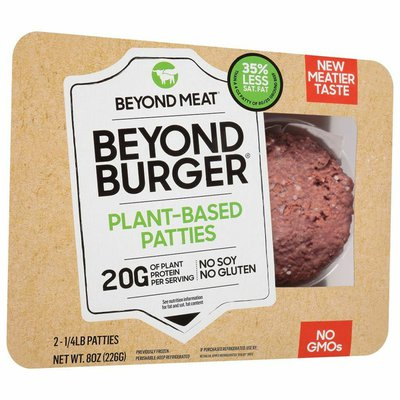 Beyond Meat Beyond Burger, Plant-Based Patties