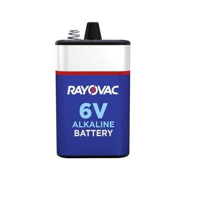 Rayovac Alkaline 6V Battery, Spring Terminals (F Cell)