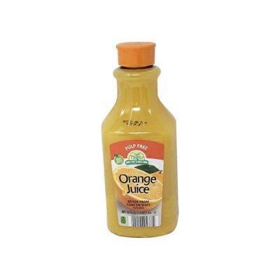 Nature's Nectar Premium No Pulp Orange Juice not from Concentrate