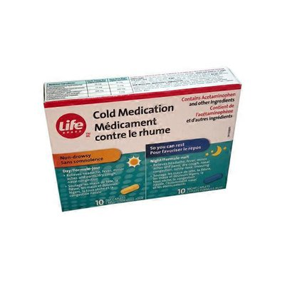 Life Brand Extra Strong Cold Day & Night Relief