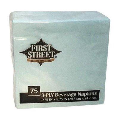 First Street Fs/Artstyle Pastel Blue Napkin 3 Ply 10x10