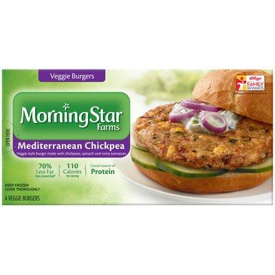 Morning Star Farms Mediterranean Chickpea Veggie Burgers