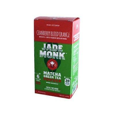 Jade Monk Matcha Green Tea Powder, Cranberry Blood Orange