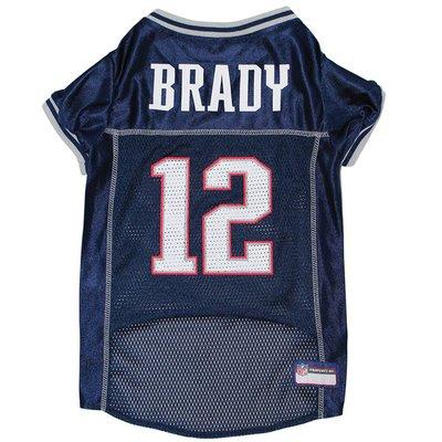 Pets First Large New England Patriots Tom Brady Pet Jersey