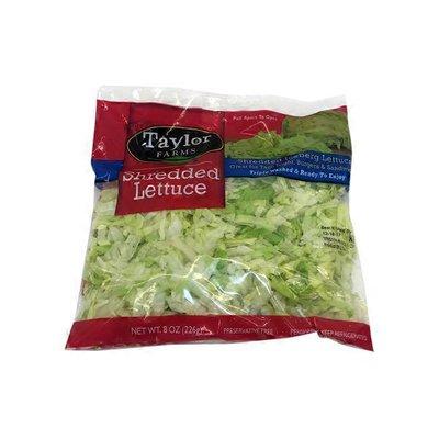Taylor Farms Shredded Iceberg Lettuce