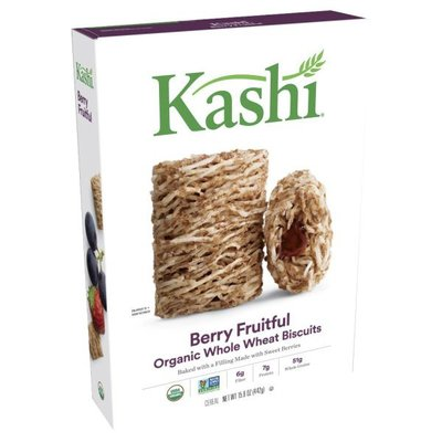 Kashi Breakfast Cereal, Berry Fruitful, Organic and Non-GMO Project Verified