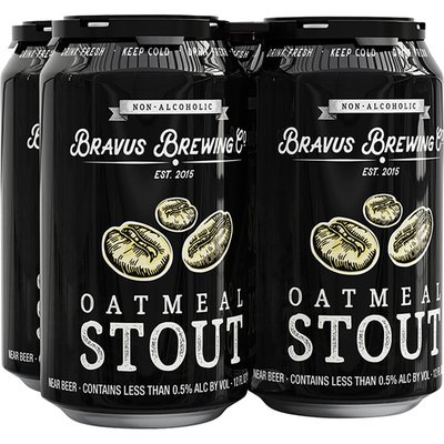 Bravus Non Alcoholic Oatmeal Stout