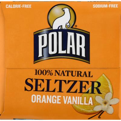 Polar Seltzer, Orange Vanilla