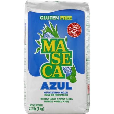 Maseca Masa Flour, Gluten Free, Blue Corn, Instant