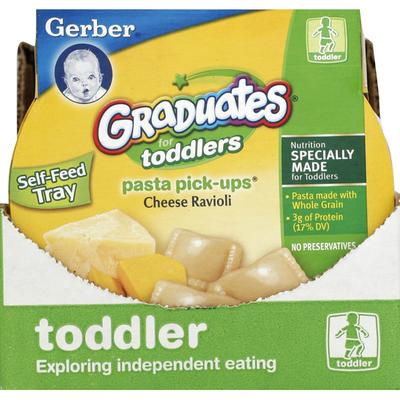 Gerber Pasta Pick-Ups, For Toddlers, Cheese Ravioli