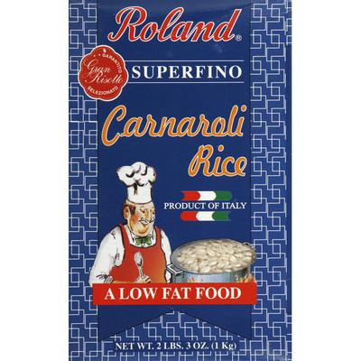 Roland Foods Carnaroli Rice, Superfino