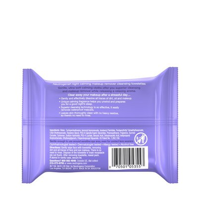 Neutrogena® Makeup Remover Cleansing Towelettes Night Calming