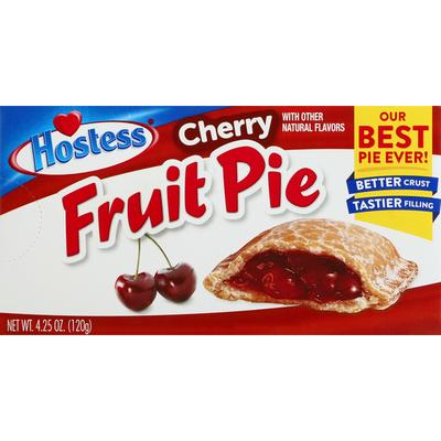 Hostess Cherry Fruit Pie Single Serve
