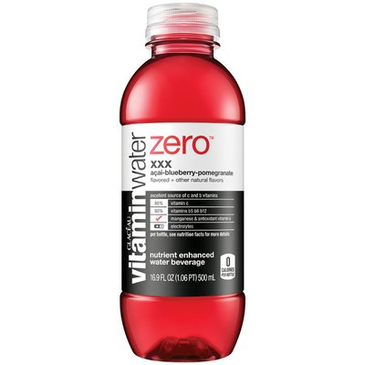 Glaceau Vitaminwater Zero XXX Acai-Blueberry-Pomegranate Vitaminwater Zero