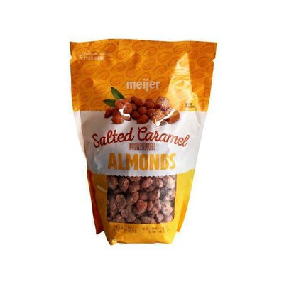 Meijer Salted Caramel Naturally Flavored Almonds