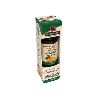 Nature's Answer 100% Pure Orange Essential Oil