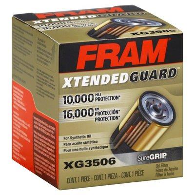 Fram Oil Filter, Xtended Guard