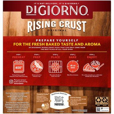 DiGiorno Pepperoni Frozen Pizza with Rising Crust