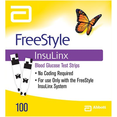 Freestyle Insulinx Blood Glucose Test Strips