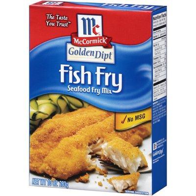 McCormick® Golden Dipt® Fish Fry Seafood Fry Mix