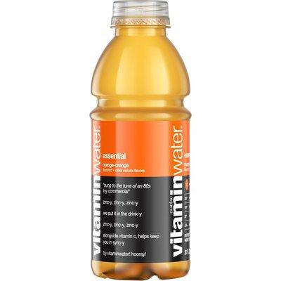 vitaminwater Essential Orange Nutrient Enhanced Water Beverage