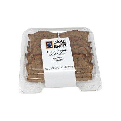 Bake Shop Banana Nut Loaf Cake