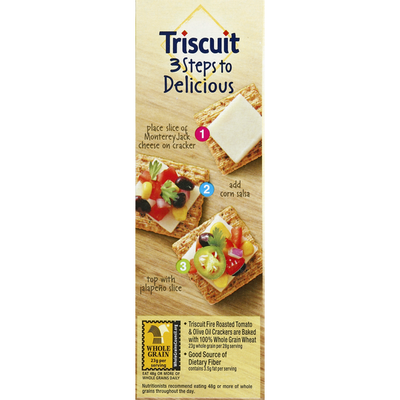 Triscuit Crackers, Fire Roasted Tomato & Olive Oil