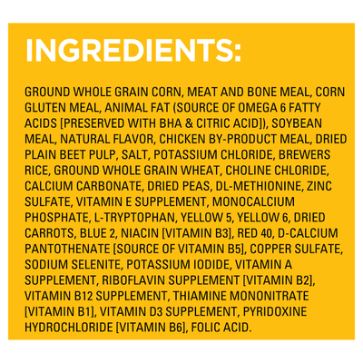 Pedigree Food for Adult Dogs, Roasted Chicken, Rice & Vegetable Flavor, Complete Nutrition, Bonus Size