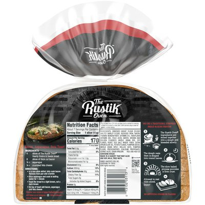 The Rustik Oven Hearty Grains & Seeds Artisan Bread