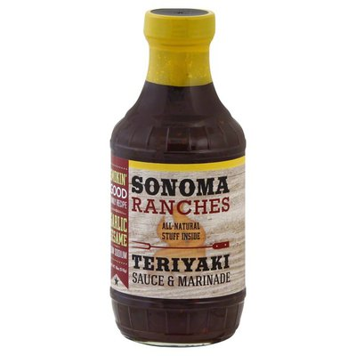 Sonoma Ranches Sauce & Marinade, Teriyaki