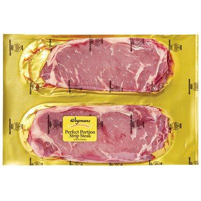 Wegmans Perfect Portions Strip Steak