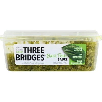 Three Bridges Sauce, Basil Pesto